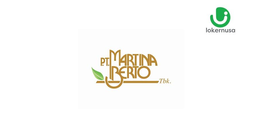 Lowongan Kerja PT. Martina Berto, Tbk (Martha Tilaar Group)