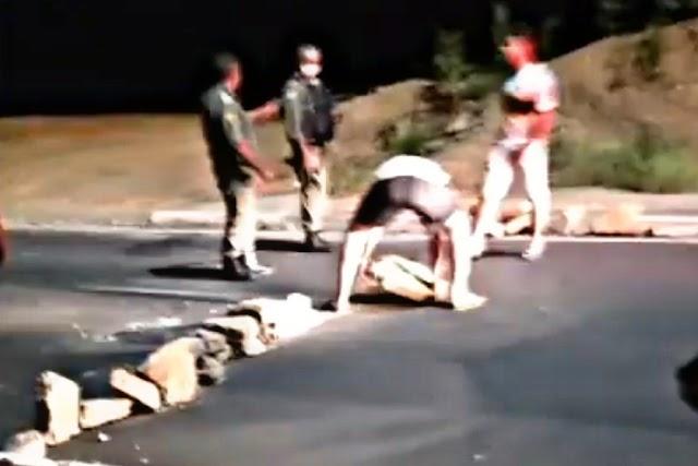 Bandidos bloqueiam avenida nova no Angelim e tentam assaltar motoristas