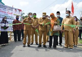 Bupati Sergai Ajak Masyarakat Komitmen Rawat Infrastruktur