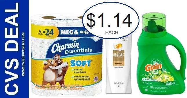 Charmin & Pantene CVS Coupon Deal 10/10-10/16