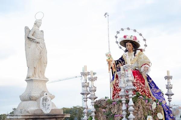 Horario e Itinerario Salida Procesional de la Divina Pastora de las Almas. Córdoba 16 de Octubre del 2021