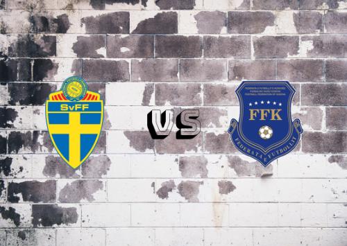 Suecia vs Kosovo  Resumen