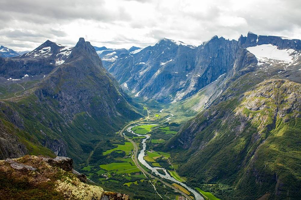 Долины Норвегии. Ромсдал