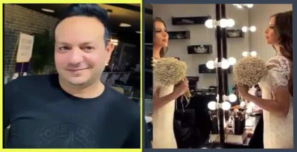 بالفيديو  علاء الشابي يحتفل بزفافه الرابع في سريّة تامة !