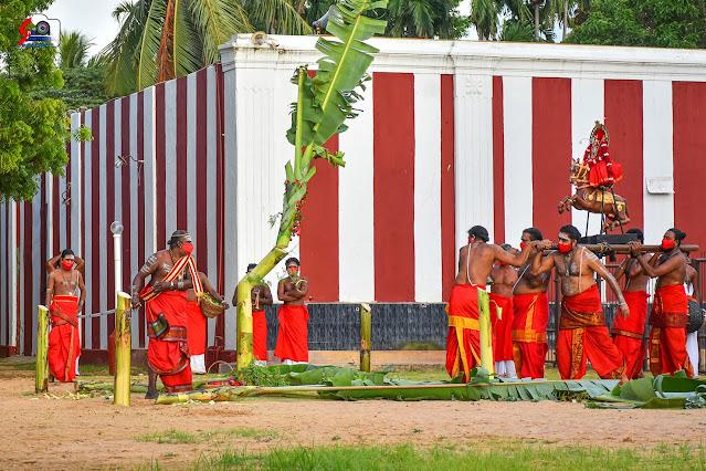 நல்லூர் கந்தசுவாமி கோவில் மானம்பூ உற்சவம்..!!!
