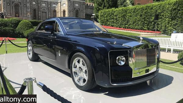 رولز رويس سويبتايل Rolls-Royce Sweptail