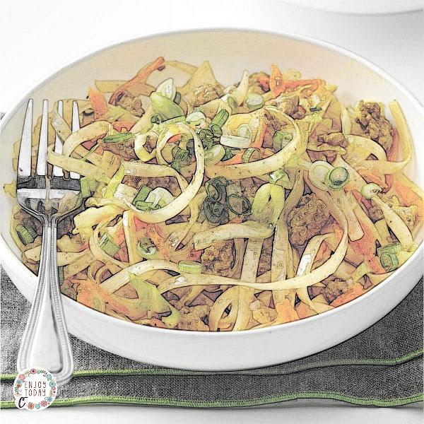 Egg Roll Noodle 🍜 Bowl