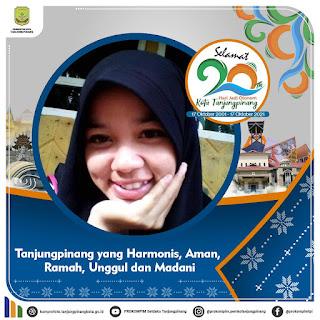 Twibbon Hari Jadi Kota Tanjungpinang, 17 Oktober 2021