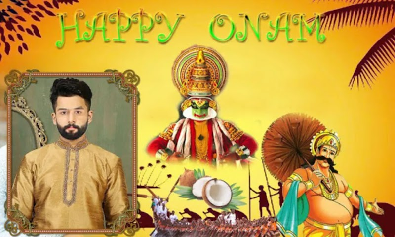 Onam Greeting Photo Frames Creating Android App