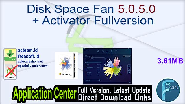 Disk Space Fan 5.0.5.0 + Activator Fullversion
