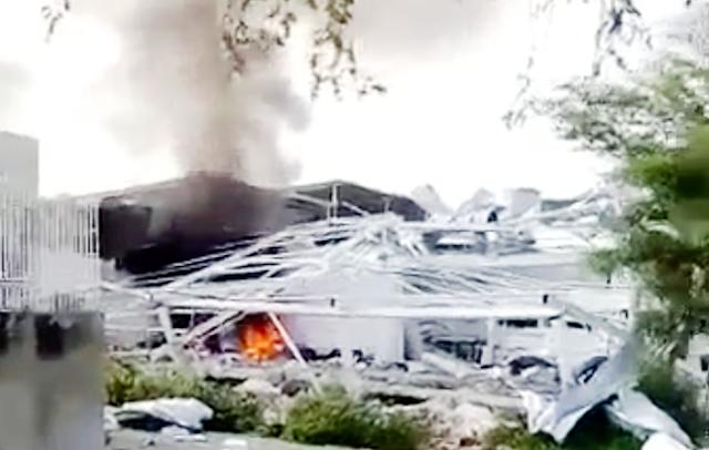 """La """"Fuerza Aérea"""" de El Mencho y su CJNG ataco con drones explosivos a Cárteles Unidos en Tepalcatepec, Michoacán"""