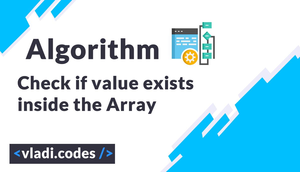 JavaScript Algorithm Array count if value exist inside the array