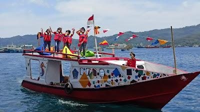 Meriah, Di Awali Parade Kapal,  FPSL 2021 Secara Virtual Mulai di Gelar