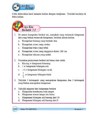 kunci jawaban matematika kelas 7 smp/mts halaman 116