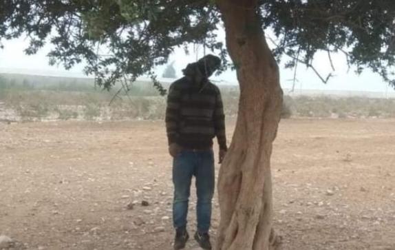 """تارودانت : العثور على جثة شخص معلقة بجدع شجرة أركان يستنفر المصالح الأمنية +""""صورة"""""""