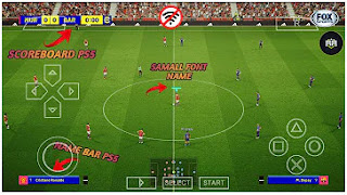 Download eFootball PES 2022 PPSSPP Mobile Peter Drury Commentary New Update Face Graphics 4K & Latest Transfers