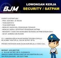 Lowongan Kerja Surabaya di Berkat Jaya Motor September 2021