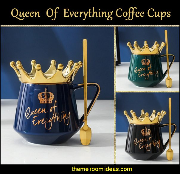 Queen Of Everything Coffee Cup gift ideas gifts for women coffee cups coffee mugs