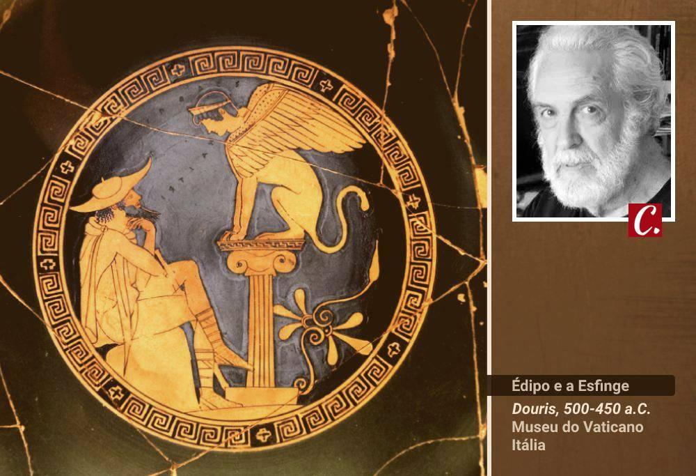 mitologia deuses grecos edipo zeus angustia esfinge desespero waldemar solha
