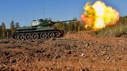 Quân đội Nga vẫn sử dụng xe Tank thời Thế chiến II