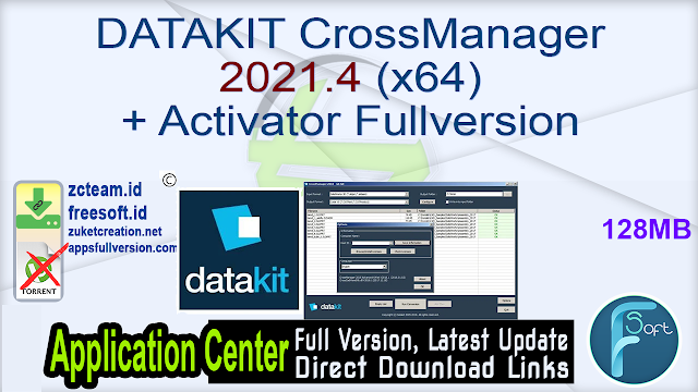 DATAKIT CrossManager 2021.4 (x64) + Activator Fullversion