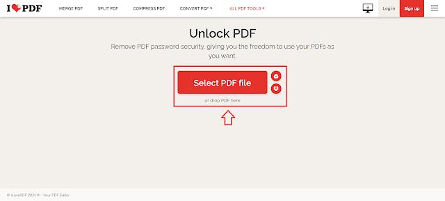 Cara Menghilangkan atau Mengahapus Password File PDF (Unlock PDF)
