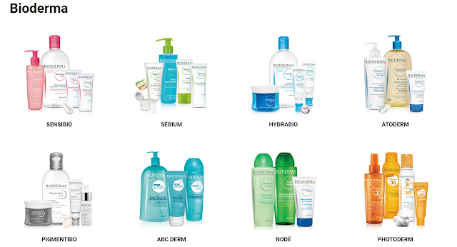 My favourite products of the Bioderma.