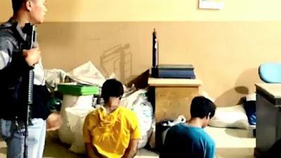 Terekam CCTV, Pencuri Kulit Manis Diamankan Polisi