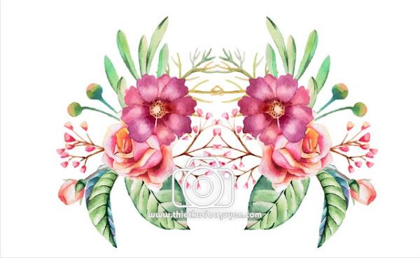 Vector Bông Hoa đẹp