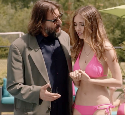 Judd Nelson and Haley Pullos in a scene from FROM STRAIGHT A'S TO XXX