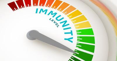 natural immunity antibody levels