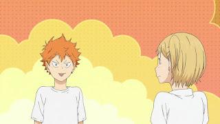 ハイキュー!! アニメ 2期3話 日向翔陽 谷地仁花   HAIKYU!! Season2 Karasuno