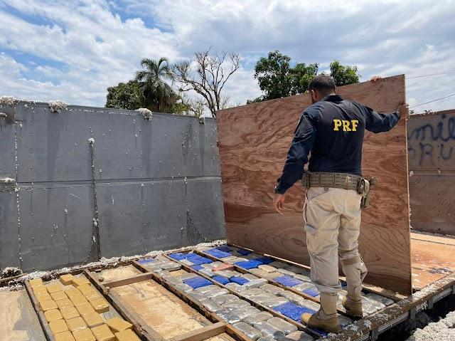 Jataí: Carregamento de cocaína avaliado em mais de R$ 15 milhões é apreendido