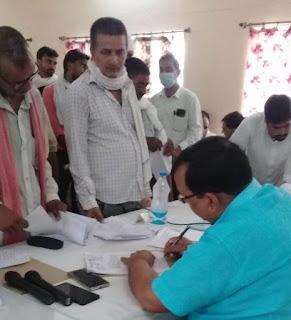 संपूर्ण समाधान दिवस पर अधिकारियों ने सुनी फरियाद  | #NayaSaberaNetwork