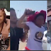 Charles Okocha goes mad after spotting his daughter inside a car with a man (Video)