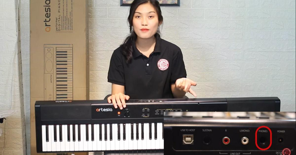 Kết nối Đàn Piano Điện Artesia Performer
