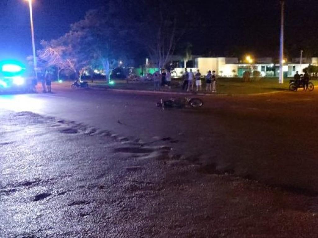 Mulher cai de motocicleta durante colisão e acaba morrendo atropleada por BMW