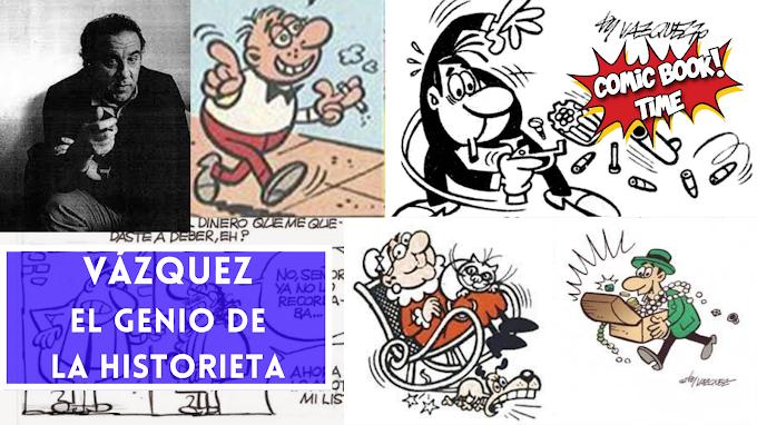 Vázquez, el genio de la historieta (III)