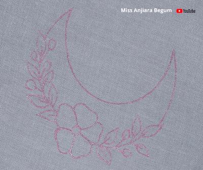 Flower Embroidery New Designs, Satin Stitch Flower Tutorial, Cute Flower...