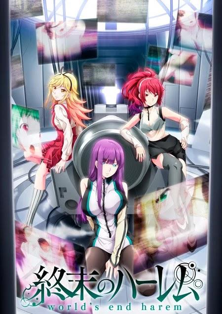 El anime de World's End Harem (Shuumatsu no Harem) revela nuevo vídeo y estreno en octubre.
