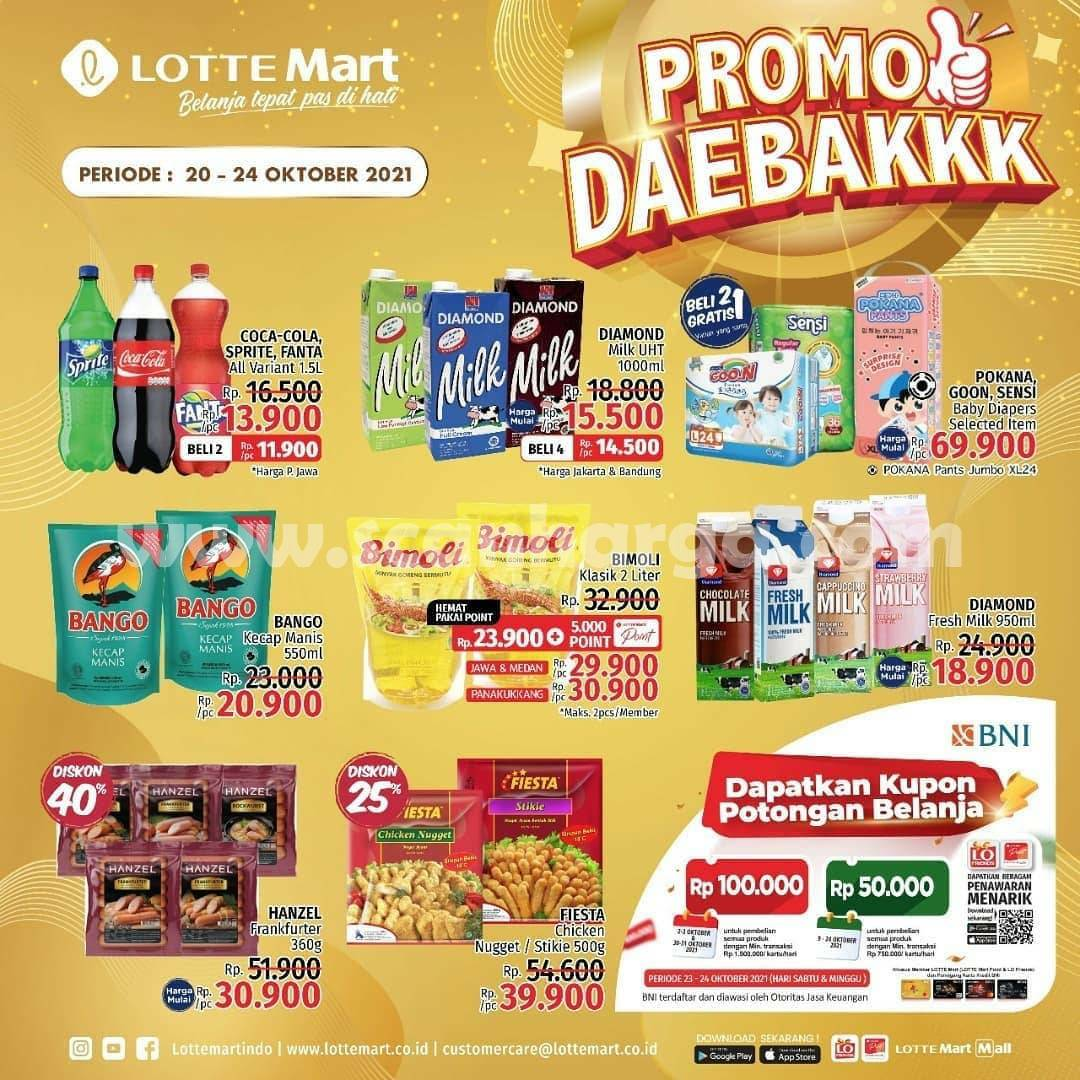 Katalog Promo Lottemart Weekend 20 - 24 Oktober 2021 2