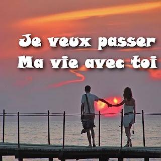 Messages d'amour en image