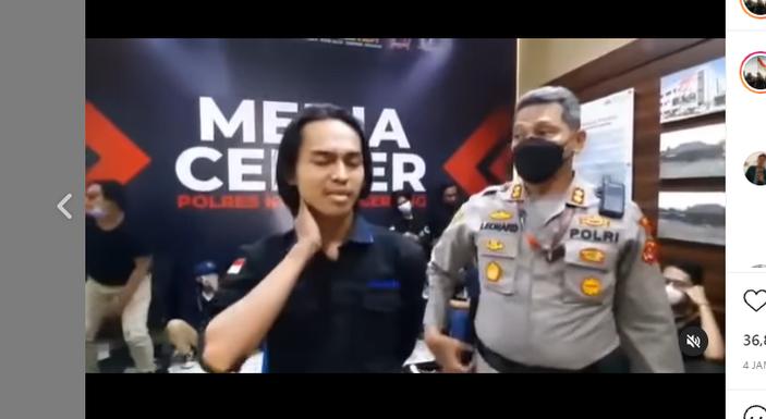 Gegara Kejanggalan Ini, Pakar Telematika Sebut Video Klarifikasi Mahasiswa yang di 'Smackdown' Polisi Ada yang Mendikte