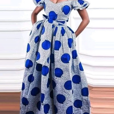 Ankara Gown Styles For Teenage Girl