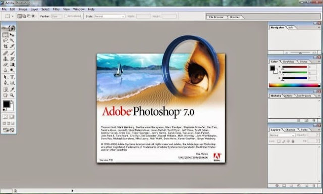 Adobe Photoshop 7.0 Free Download With Serial Number - SheriyarTech