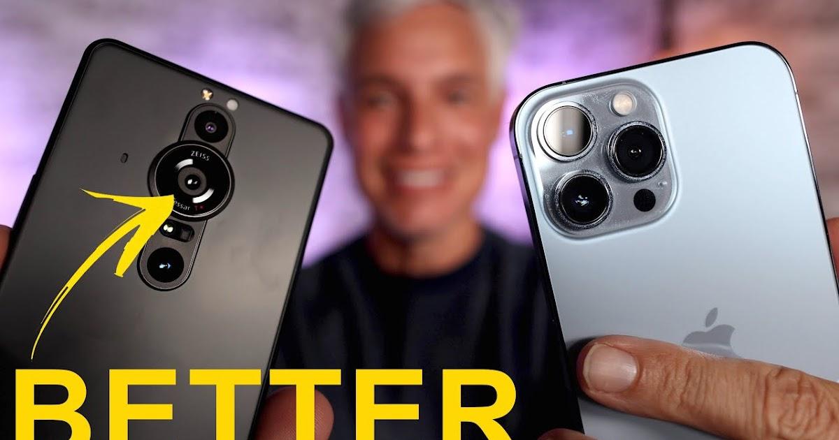 The 1 Inch Sensor Smartphone Camera: Sony Xperia Pro-I vs iPhone 13 Pro CAMERA Review!
