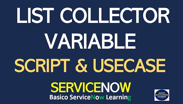 ServiceNow List Collector