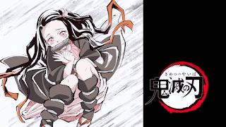 鬼滅の刃アニメ アイキャッチ 竈門禰豆子 Kamado Nezuko   Demon Slayer Eyecatcher