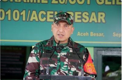 Dandim 0101/Aceh Besar Apresiasi Keberhasilan Binter Babinsa Koramil 16/Pulo Aceh
