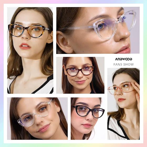 Best Clear Cat Eye Glasses for Women